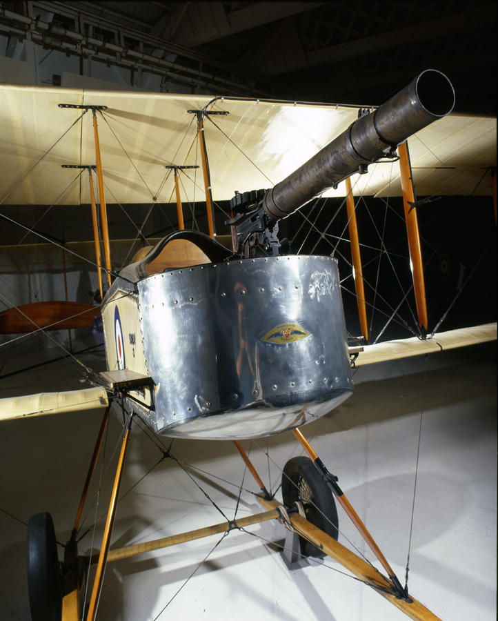 Early war British observation plane on exhibit at the RAF Museum, London