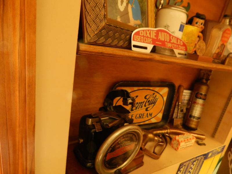 Objects from Staub's made-in-Dayton collection.