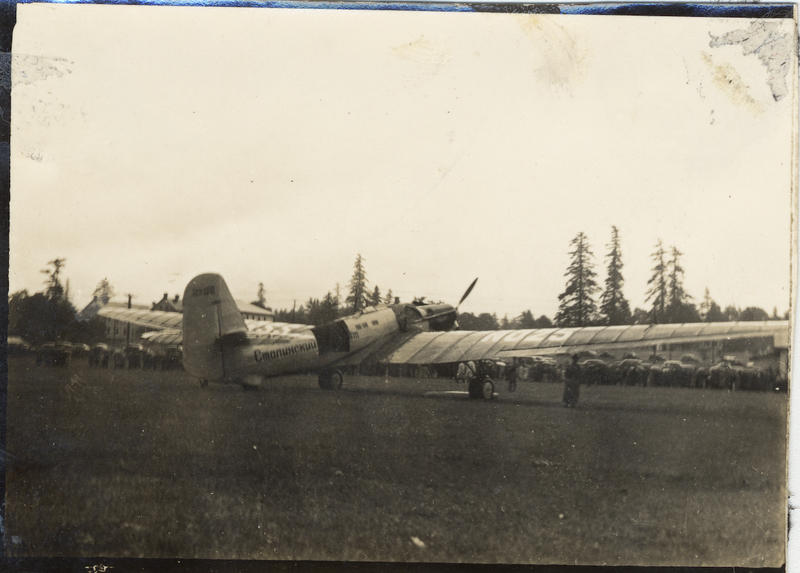 The Russian Antonov- 25 at Pearson Army Air Field in Vancouver, Washington, 1937