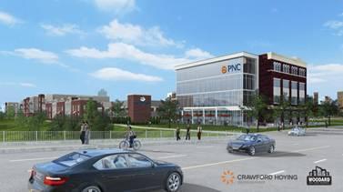 PNC building sketch