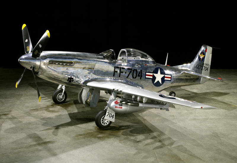 FF 704, later version and much more common, this one in the markings of a Mustang that was flown in the Korean War.