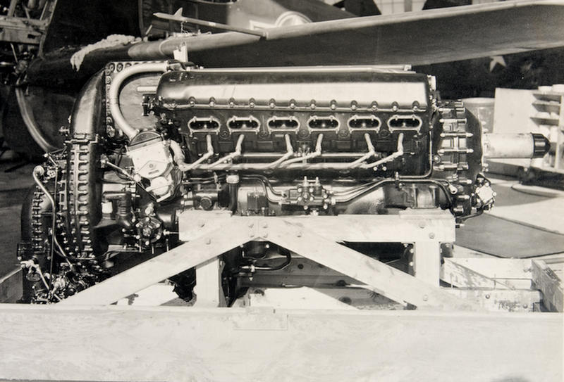 Packard built over 55,000 of these engines under license from Rolls-Royce.