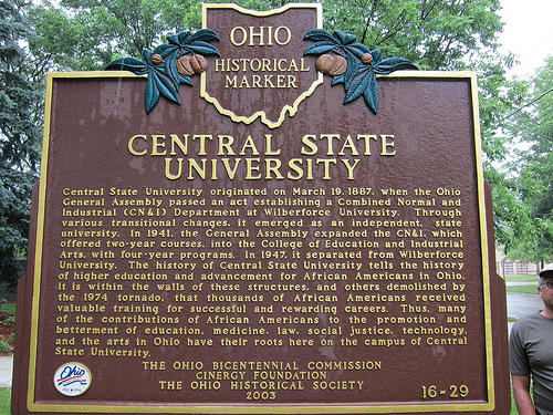Central State is one of two historically black universities in Greene County.