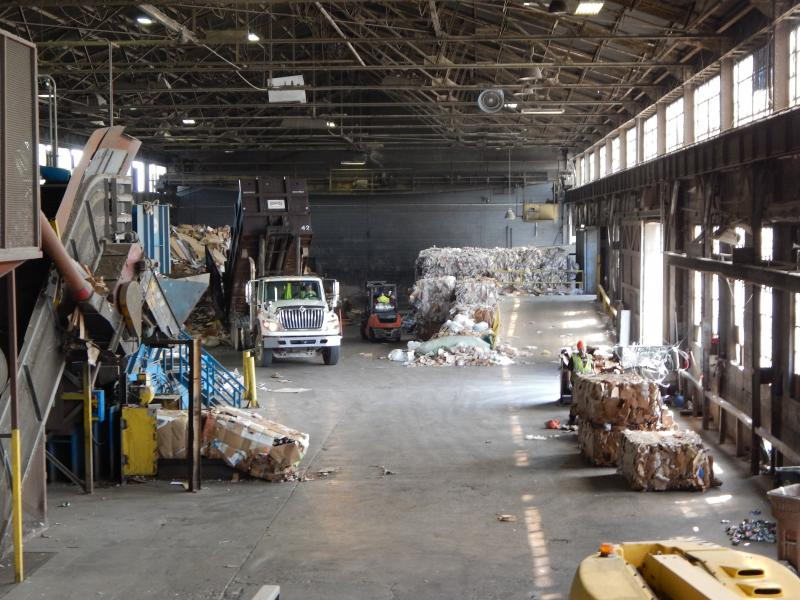 The Rumpke Recycling processing plant in Dayton is increasing its capacity with an expensive upgrade.