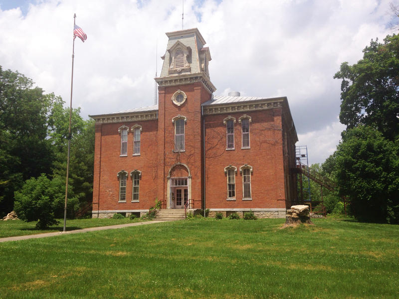 Old Yellow Springs Municipal building