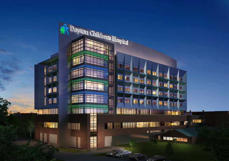 Dayton Children's is also expanding in the city of Dayton, with this new patient tower.