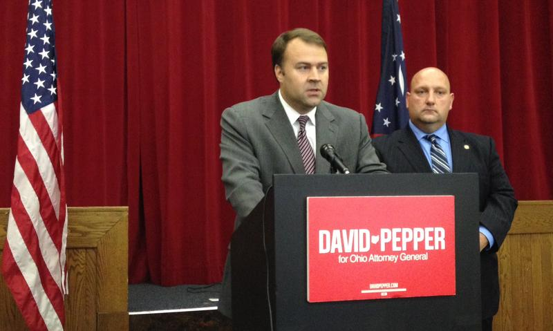 David Pepper, who just lost a bid to become Ohio's Attorney General, is considered a front runner for the chairmanship of the state Democratic Party.