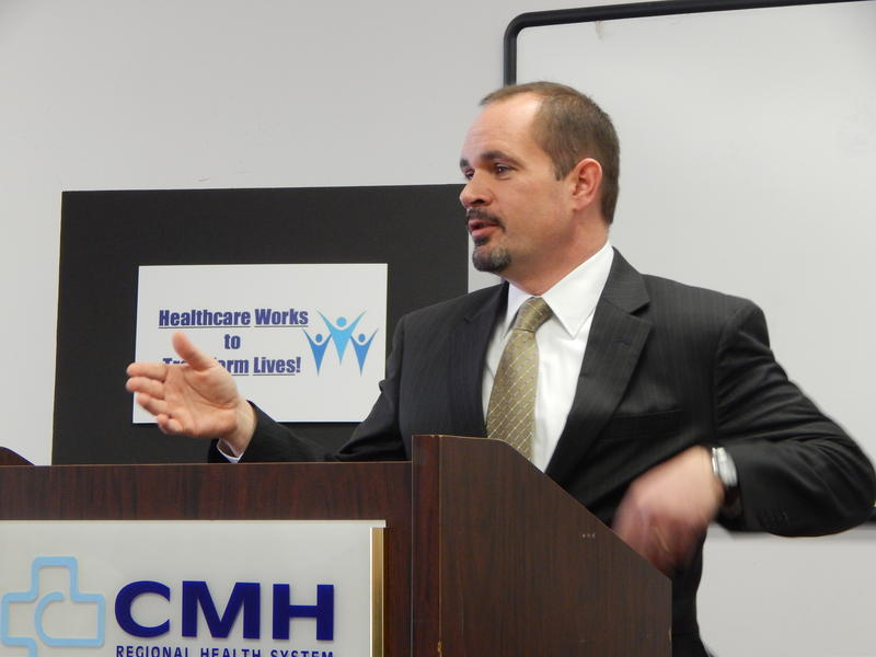 John McCarthy is the head of the Ohio Department of Medicaid. He appeared in Wilmington Tuesday at an event featuring providers and patients in advance of the governor's State of the State speech.