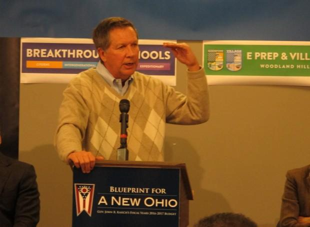 Gov. John Kasich still intends to work on charter school reforms for the state's worst charters.