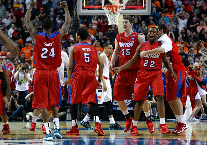 Dayton upsets Syracuse 55-53, March 2014