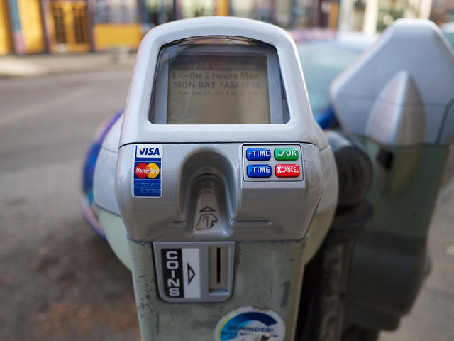 Cincinnati's new parking meters include data analytics to help price parking according to demand.