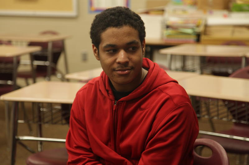 Marcus Jordan is a senior at Trotwood-Madison High School. latino