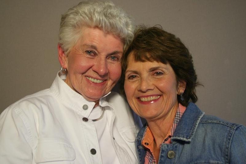 Patricia Bates and Kay Lewis