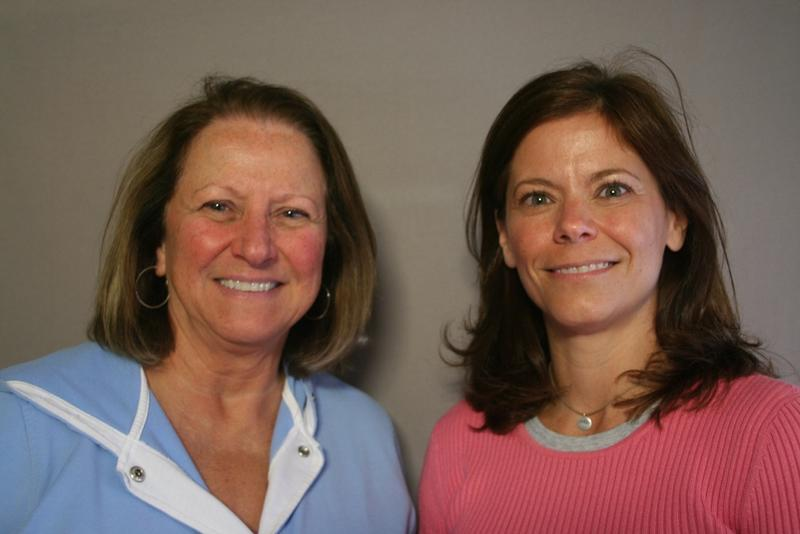 Carol Roberts and Jennifer Muhlencamp
