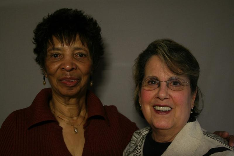 Alyce Jenkins and Dorothy Scott