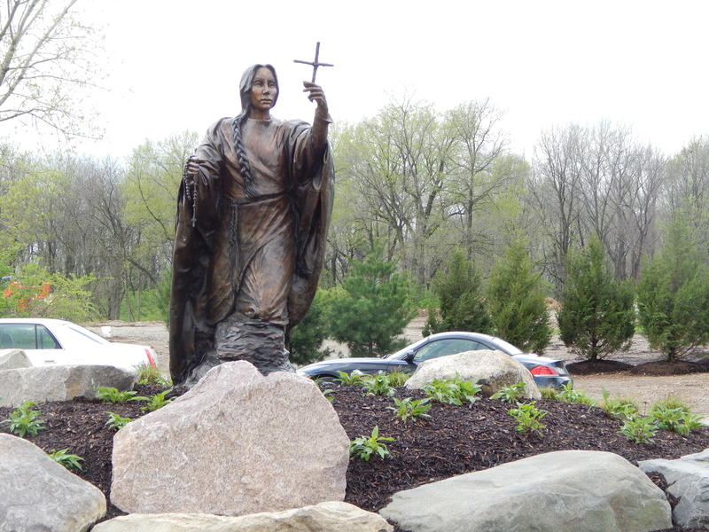 The St. Kateri Preserve at Calvary Cemetery is among a handful of green burial options in the area.