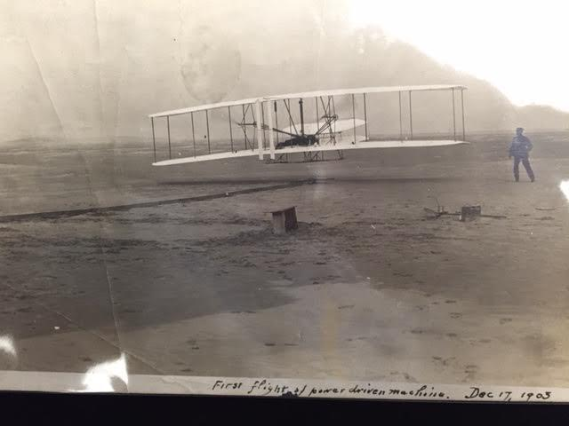 The 'First-Flight' photograph.