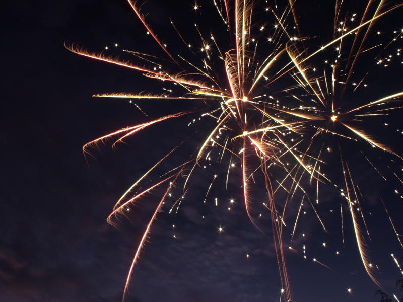 Fireworks could cause problems for some veterans this weekend.