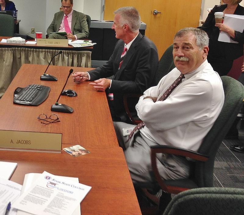 Superintendent Richard Ross during the July meeting of the Ohio Board of Education.