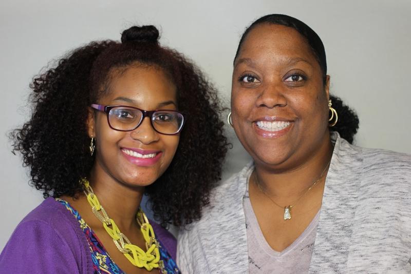 Ebony Davenport and Karen Brame El-Amin