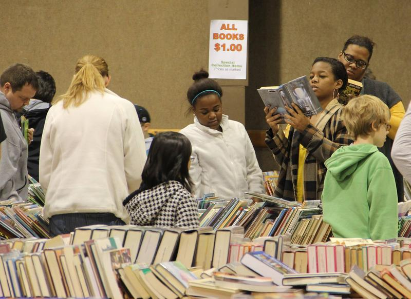 Dayton Metro Library's Fall Book Sale is this weekend at Hara Arena