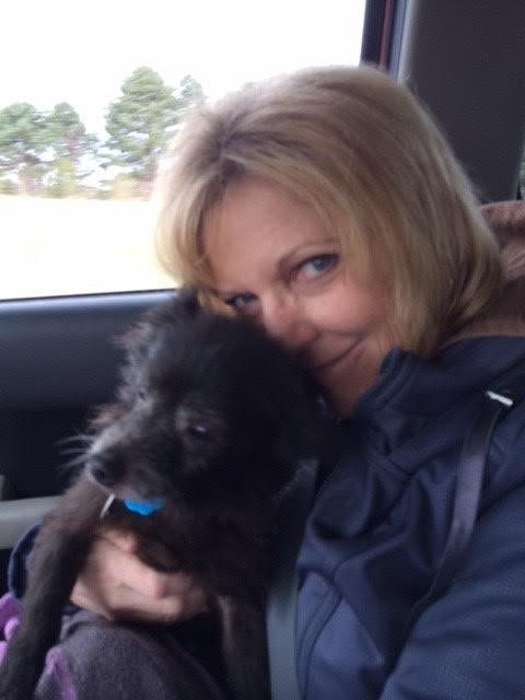 Cathy Turnipseed and a rescue in progress