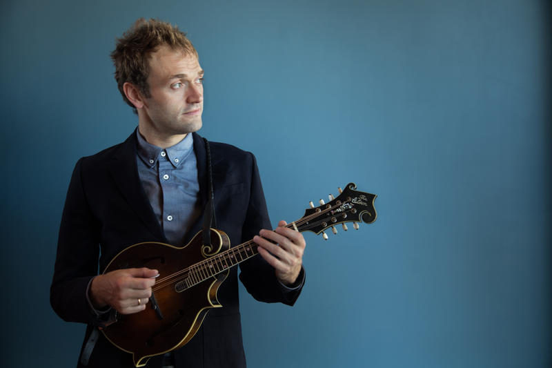 Chris Thile, host of A Prairie Home Companion