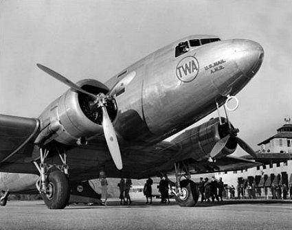 TWA's City of Dayton airplane