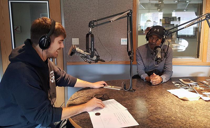 Jeremy Dobbins interviewing Jay Blunt