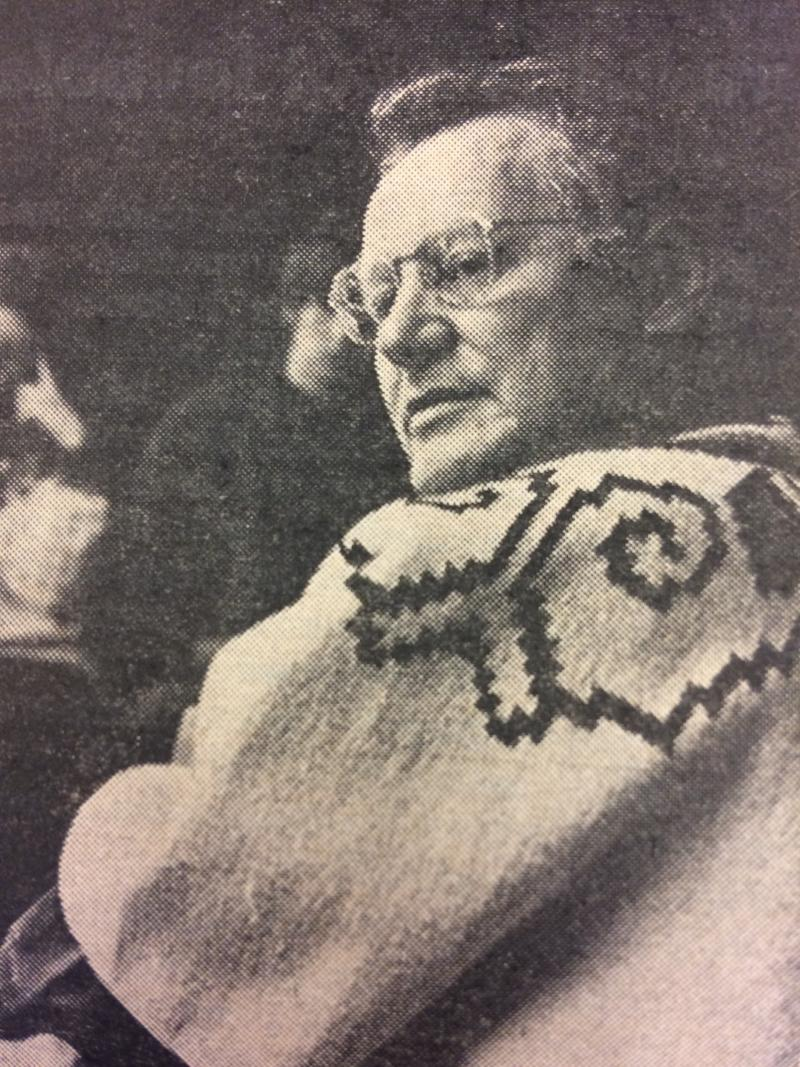 Robert Bly at Antioch College in 1968