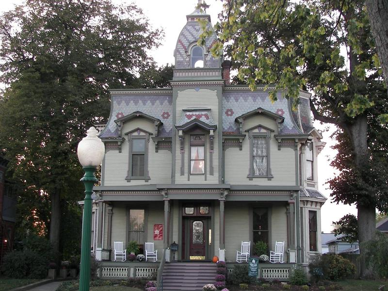 The historic Bookwalter Mansion on South Fountain in Springfield is up for sale.