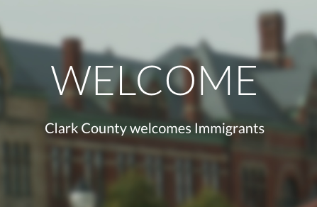 the front page of the Welcome Springfield website