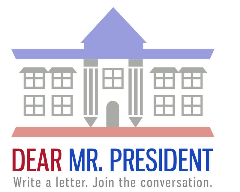 Dear Mr. President asks what you want to say about your community.