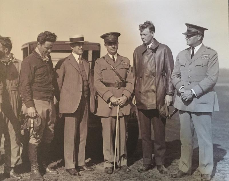 Charles Lindbergh visits Dayton in 1927