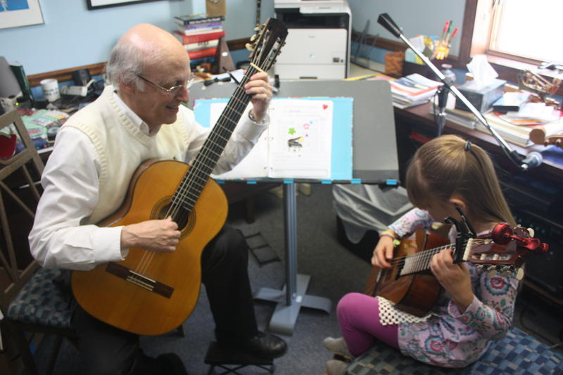Jim McCutcheon has taught guitar to generations of local families