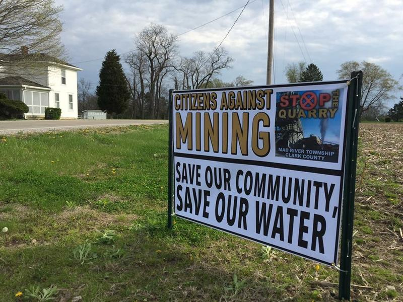 Opponents of the Enon Sand and Gravel mining project say the mine could threaten the drinking-water supply, create noise pollution and hurt the property values of hundreds of nearby homes.