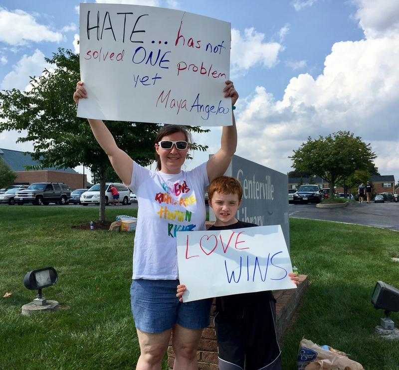 "Miami Township resident Brielle Maynor says it's important for Americans to protest the current resurgence of white nationalists and neo-Nazi groups, and so-called ""Unite the Right"" rallies similar to the one that sparked violence in Charlottesville a wee"