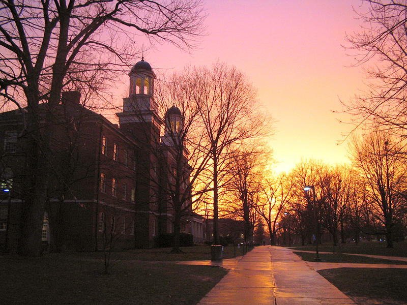 Harrison Hall at Miami University.
