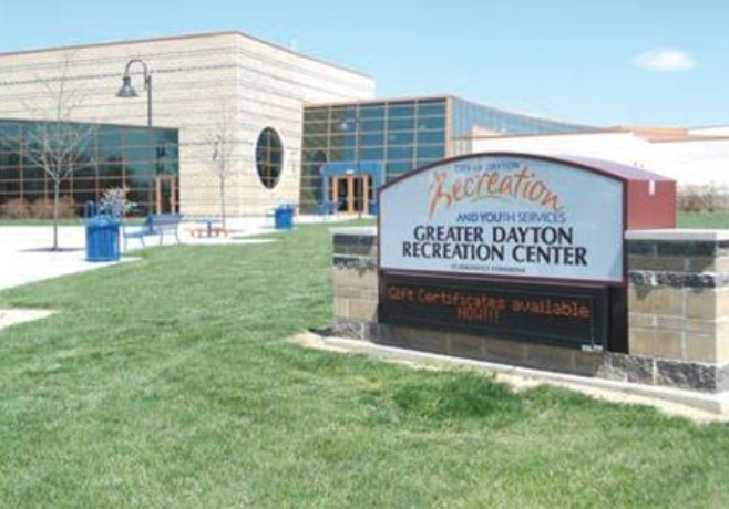 The Greater Dayton Recreation Center is one of several warming facilities the city is offering to residents during the week's extreme cold.