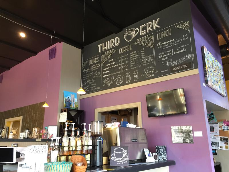 Downtown Dayton's Third Perk Coffeehouse and Wine Bar hosts an event called the Perk-E-Lator to help would-be entrepreneurs hone their business ideas.