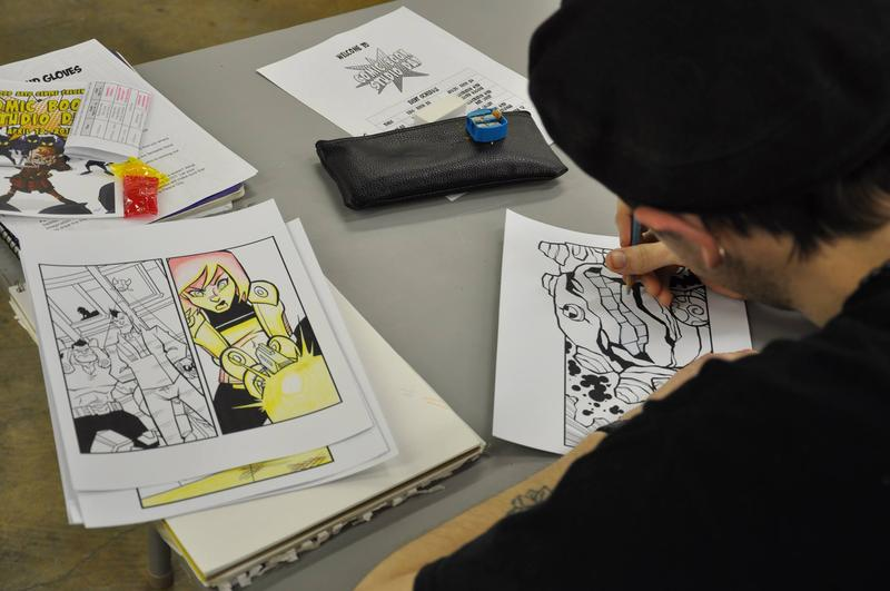 Comic Book Studio Day returns to Rosewood Arts Center this weekend.