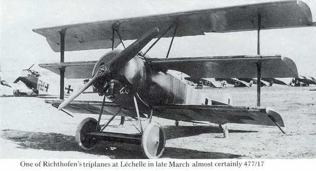 Manfred von Richtofen was most famously known for flying a scarlet Fokker triplane
