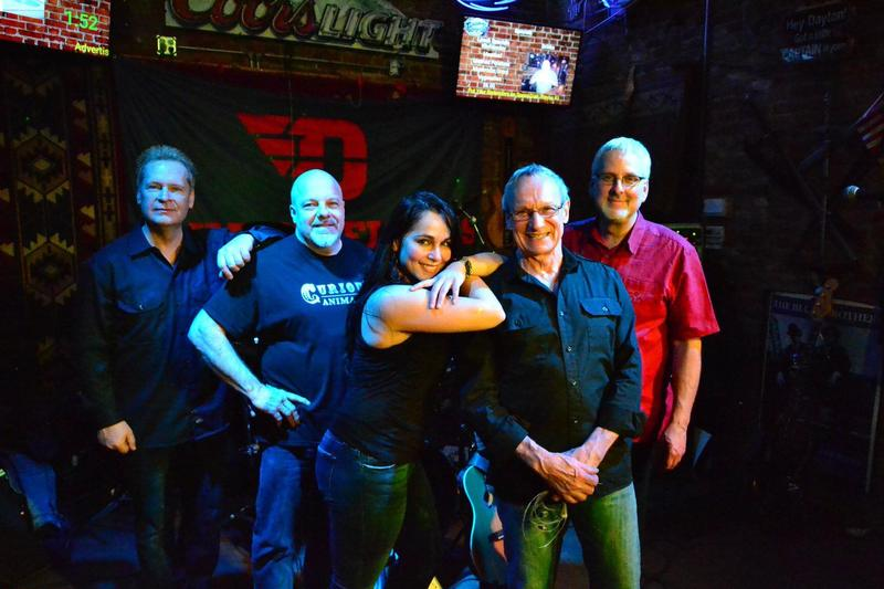 (from left) Rob Olsen, Greg Snyder, Reyna Spears, Dana Farley and Bruce Warren