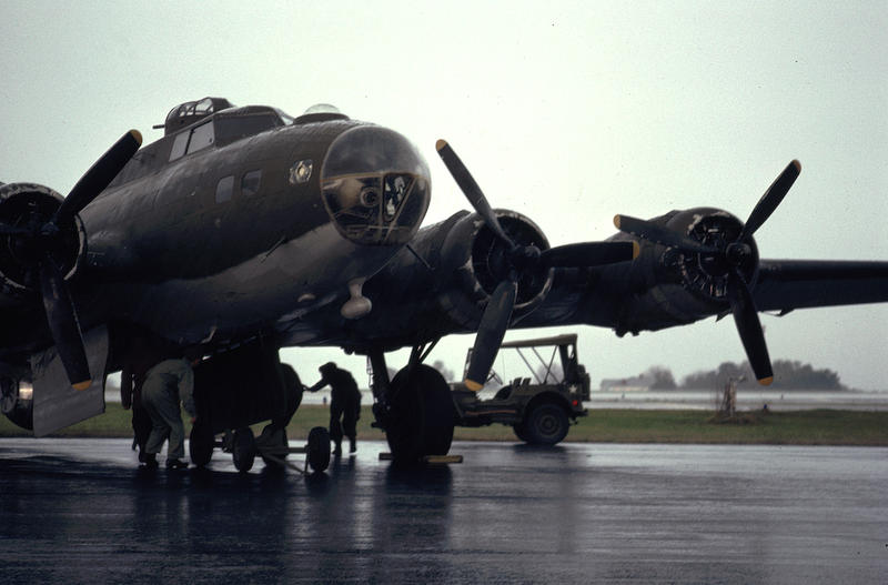 The B-17 Flying Fortress is the most iconic aircraft of WWII