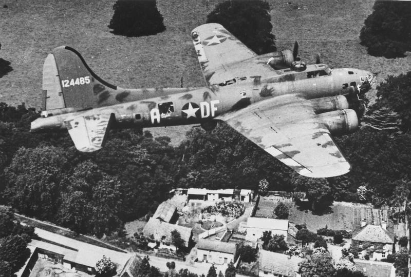 B-17F Memphis Belle over Europe