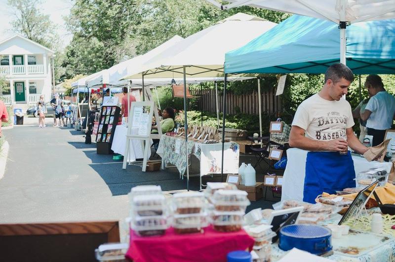 The Oakwood Farmers Market is Saturdays, 9am - 1pm.