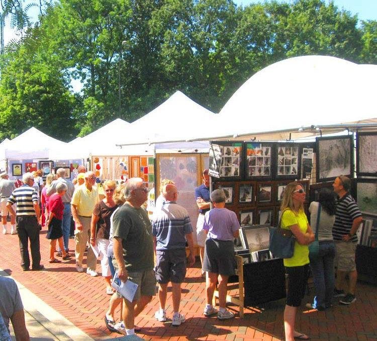 Art on the Commons is Sunday, 11a.m. to 5p.m.