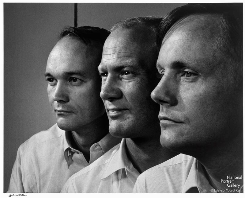The Apollo XI Crew photographed by Yousuf Karsh.