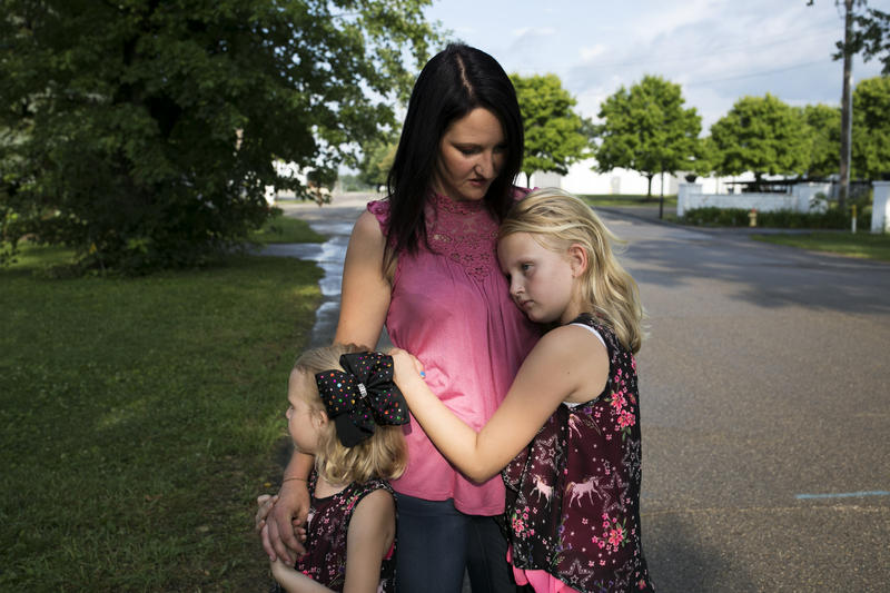 Sarah Clay recently regained custody of her three youngest children