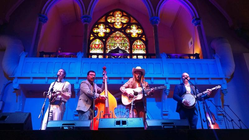 Cincinnati bluegrass band Slippery Creek